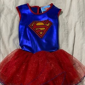 Supergirl costume by rubies size 2-3